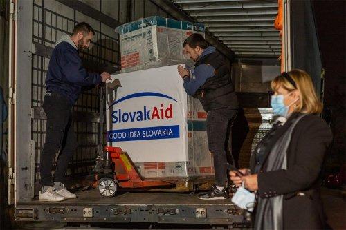 Donacija Slovačke kroz Mehanizam civilne zaštite EU – 06.02.2021.