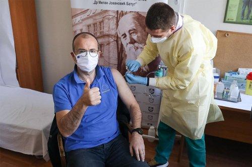 Ambassador's Vaccination – 26.02.2021.