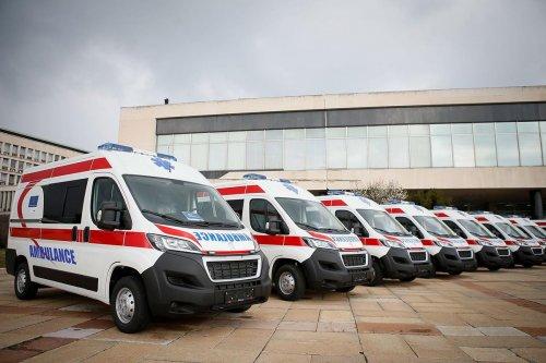 Twenty Ambulance Vehicles Hand-over – 19.03.2021.