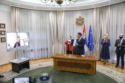 Potpisivanje sporazuma u Vladi Srbije – 30.06.2021.