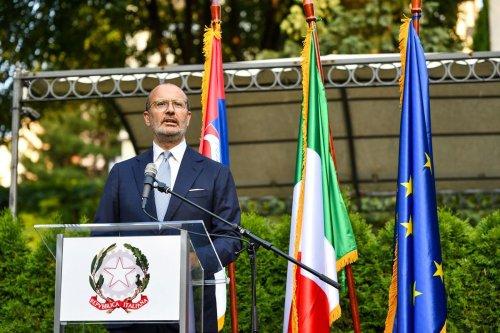 Ambassador's Farewell Reception – 28.07.2021.