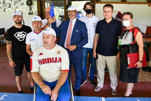 Ambassador's meeting with the Paralympic Committee – 28.07.2021.