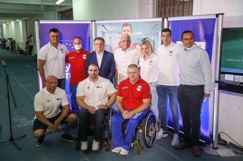 Paralympics departing to Tokyo - 20.08.2021.